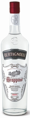 Bertagnolli Grappino Grappa Bianca 40% 0,70 ltr.