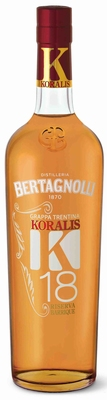 Bertagnolli Koralis K18 Grappa Riserva 40% 0,70 ltr.
