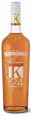 Bertagnolli Koralis K24 Grappa Riserva 40% 0,70 ltr.