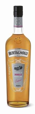 Bertagnolli Grappa di Brunello di Montalc. Oro 42% 0,70 ltr.