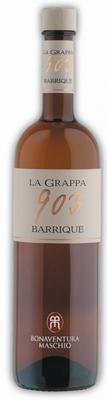 Bonaventura Maschio Grappa Barrique 903 40% 0,70 ltr.