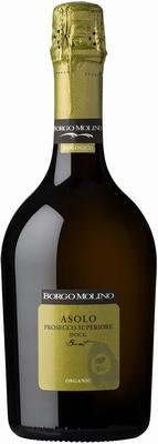 Borgo Molino Asolo Prosecco Superiore Organic Brut 0,75 ltr.