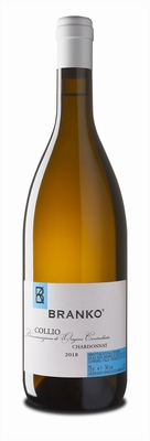 Branko Chardonnay Collio DOC 2018 0,75 ltr.