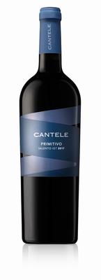 Cantele Primitivo Salento IGT 2017 0,75 ltr.