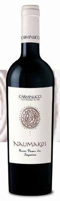 Carminucci Naumakos Rosso Piceno Superiore 2017 0,75 ltr.
