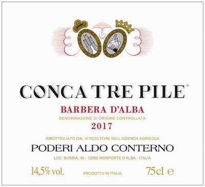 Conterno Aldo Barbera d'Alba Conca Tre Pile 2017 0,75 ltr.
