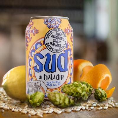 Baladin Birra Sud di Baladin in lattina 4,5% 0,33 ltr.