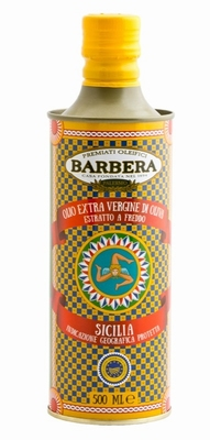 Barbera Olio d'Oliva Extra Vergine Carretto Tin 500ml