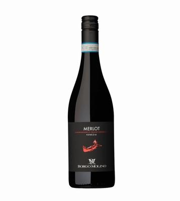 Borgo Molino Gondola Merlot DOC 2019 0,75 ltr.