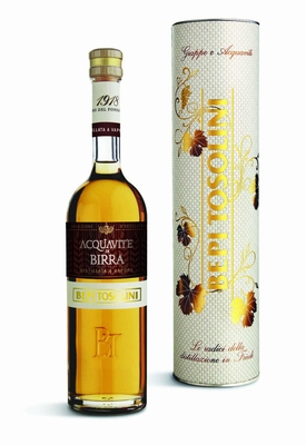 Bepi Tosolini Acquavite di Birra 40% vol. BOX 0,50 ltr.