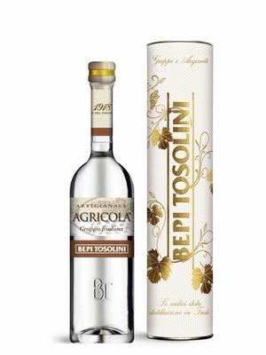 Bepi Tosolini Grappa Agricola 50% vol. BOX 0,50 ltr