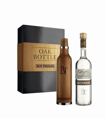Bepi Tosolini Grappa Chardonnay Oak Bottle 40% vol. 0,50 ltr