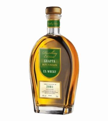Bepi Tosolini Grappa Ex-Whiskey Barrique 40% vol. 0,70 ltr.